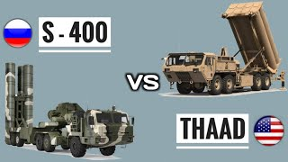 S-400 Vs THAAD - Difference Between S400 & THAAD Missile Defense System | Which Is Better? (Hindi)