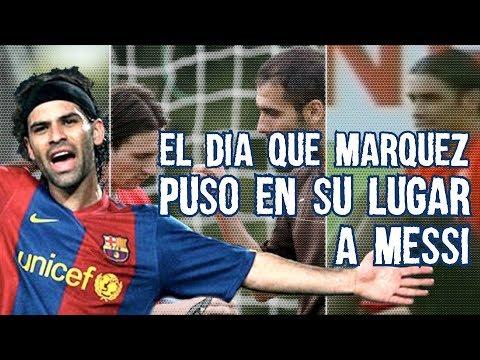 Conoce el da que Rafa Mrquez REGA a Leo Messi, Discutieron y Guardiola Tuvo Que Calmarlo
