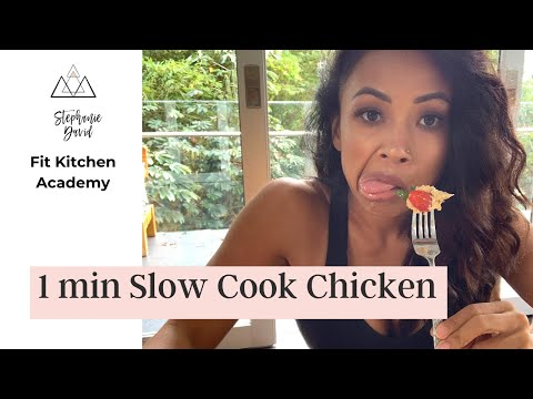 VLOG: ONE MINUTE CHICKEN MEAL PREP