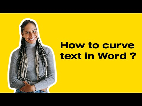 How To Curve Text In Word 2016/2013/2010/2007?