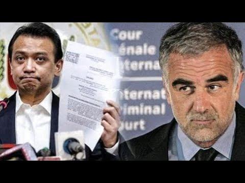 INTERNATIONAL CRIMINAL COURT PROSECUTOR IBINASURA ANG COMPLAINT NI TRILLANES