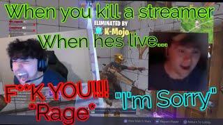 He Called Me what? Killed LispyJimmy Fortnite   Hilarious LispyJimmy Rage   Both Reactions & POV