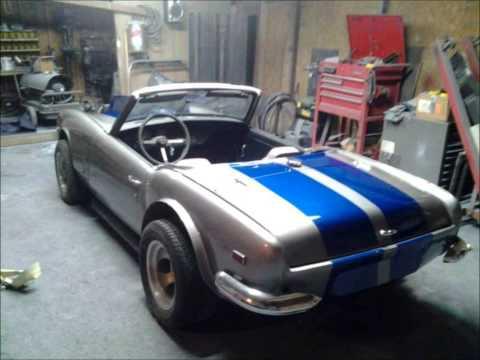 1968 Truimph Spitfire V8 Corvette Powered 4 Speed