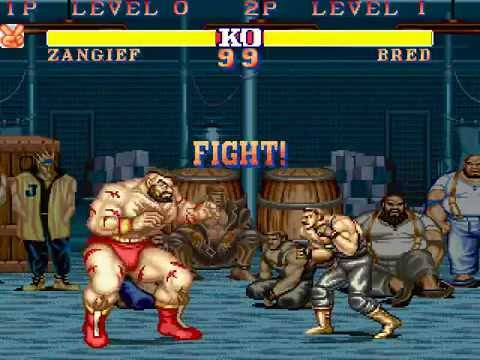 street fighter ll deluxe 2 zangief playthrough youtube