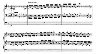 Bach - Toccata and Fugue in D minor BWV 565 (with score)