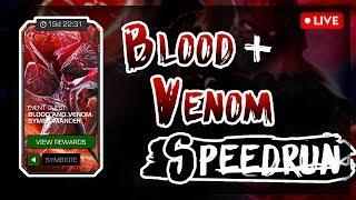Blood & Venom SYMBIOTE Speedrun + Featured Opening!!