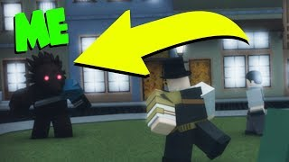 BECOMING A SCARY CREATURE! WARNING! (Roblox)