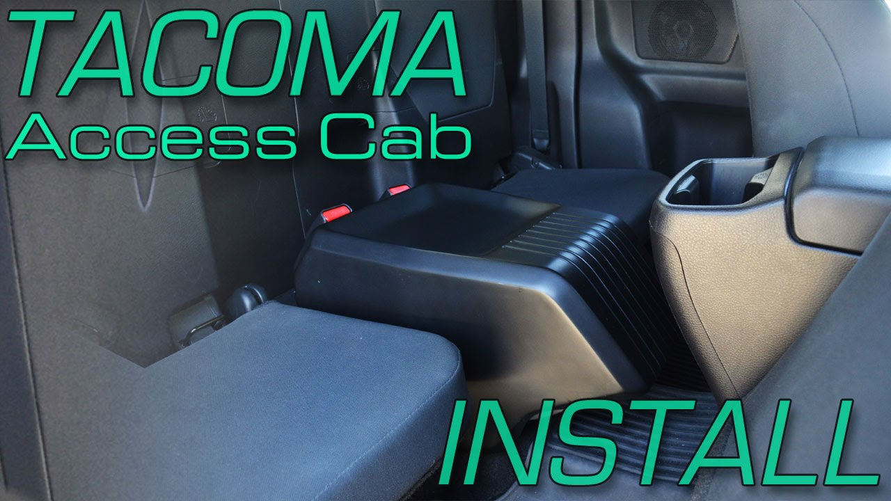 toyota tundra speaker wiring diagram leeson 3 hp motor tacoma access cab sound solution install youtube