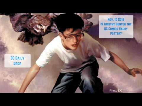 Is Timothy Hunter the DC Comics Harry Potter?