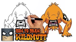 How to Draw Wildmutt | Ben 10 (Art Tutorial)