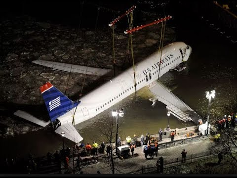 Weeks Marine - The recovery of US Airways 1549 (Sully's plane) from the Hudson