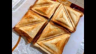 Make Canned Fish + Potato Masala Toast Sandwich Recipe (Spicy)