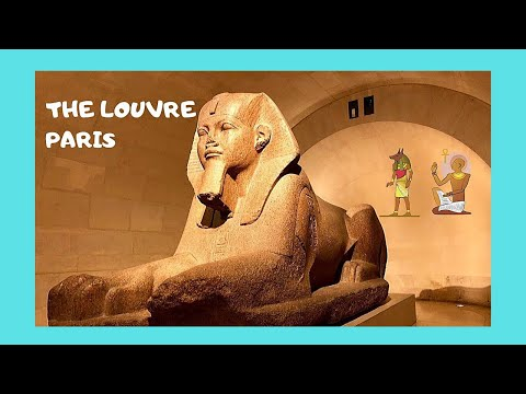 PARIS, priceless ANCIENT EGYPTIAN ANTIQUITIES  at the LOUVRE MUSEUM