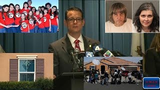 California torture house: 13 siblings allowed to eat once a day, shower twice a year
