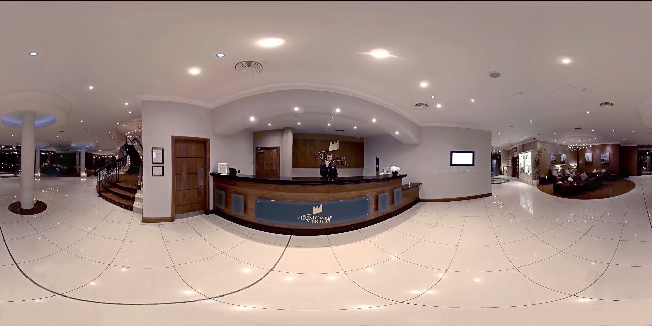 Foyer Hotel : Trim castle hotel foyer 360 video youtube