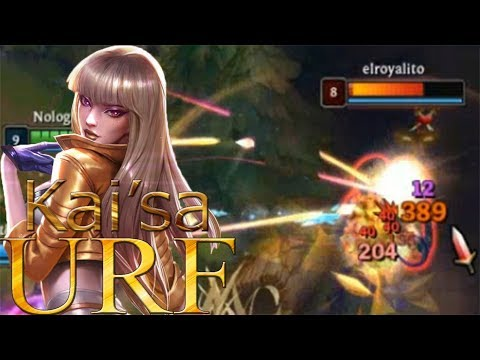 [URF] League of Legends | Kai'sa ~ Hago 56000 de daño solo dandole a la Q | 23 kills + nivel 22 thumbnail