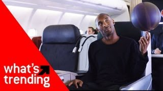Kobe Bryant/Lionel Messi Airline Ad Plus Top YouTube Videos of 12/7/12