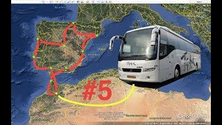 Spain, Morocco, Portugal by coach: day 8 & 9 (Bus #15)