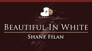 Shane Filan - Beautiful In White - HIGHER Key (Piano Karaoke / Sing Along)