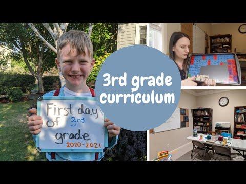 3rd Grade Homeschooling Curriculum (2020-2021)