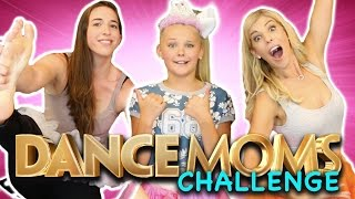 DANCE MOMS Dance Challenge! (w/ JoJo Siwa and Rachel Ballinger) Check out the videos we did on Rachel and JoJo's Channel! Crazy Experiment: ...