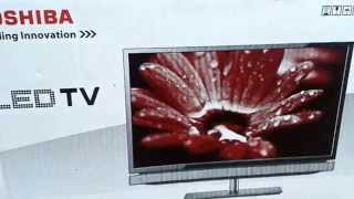 Toshiba P2300 / P2305 LED TV Unboxing