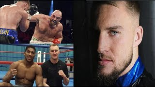 OTTO WALLIN WANTS TYSON FURY REMATCH OR ANTHONY JOSHUA!!