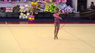 """Художественная гимнастика. Показательное выступление в рамках XVI турнира """"Ника"""""""