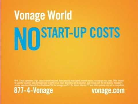 Vonage World Commercial