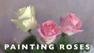 Vibrant Colours Part 2 - Painting Roses