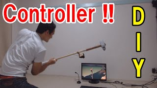 DIY hammer type controller for Getting Over It !!