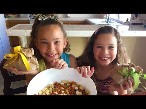 Fun After School Snacks | Tasty Fall Harvest Mix!