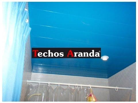 Trabajo techos de aluminio para ba os techosdealuminio for Techos desmontables para banos