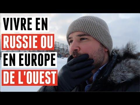 LA RUSSIE C'EST MIEUX QUE L'EUROPE DE L'OUEST.... ?