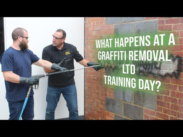 Graffiti Removal Training | What's it like at a Graffiti Removal Ltd Training Day?