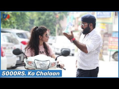 Fake Traffic Police Prank - Ft. The HunGama Films  | Tehelka Prank