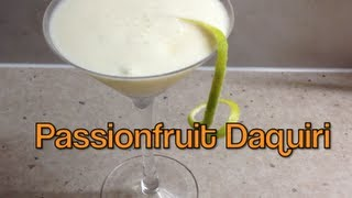 Passionfruit Daquiri Thermochef Recipe Cheekyricho