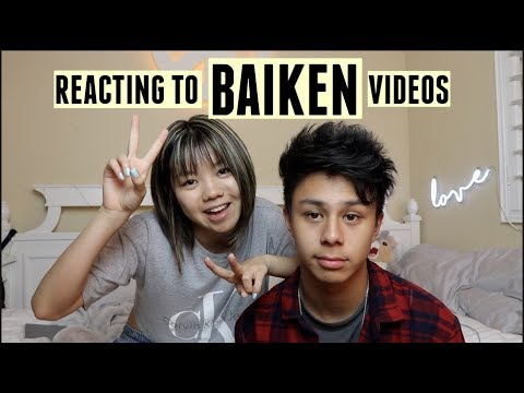 reacting to baiken videos with kenneth san jose!