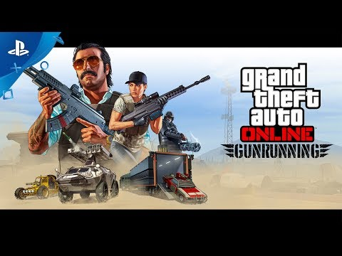 GTA Online - Gunrunning Trailer | PS4