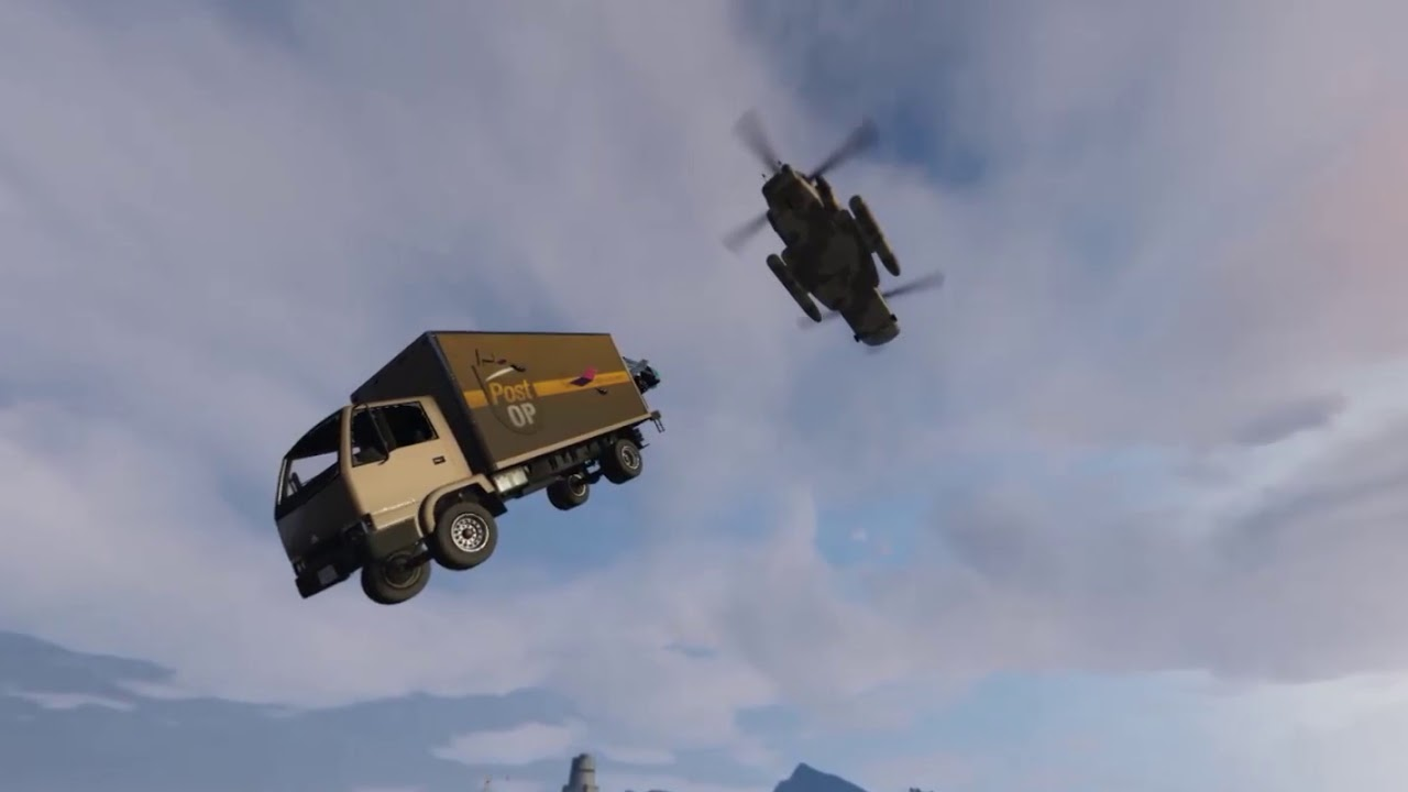 The Truck (GTA V Rockstar Creator)