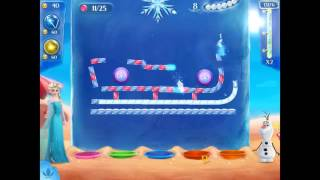 Frozen Free Fall 2 - Walkthrough Level 6 (side level at 85)