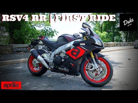 2016 Aprilia RSV4 RR   First Ride & Review