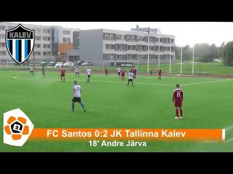 Esiliiga XXII voor: Tartu FC Santos 4:5 JK Tallinna Kalev
