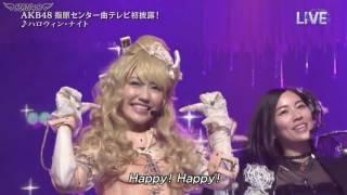 (vietsub) 150704 The Music Day AKB48 ハロウィーン・ナイト  Halloween Night