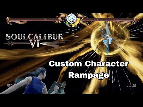 Learning To Play The 'BEST' Custom Characters! Soul Calibur VI