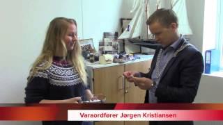 Se Varaordfører Jørgen Kristiansen trekke vinneren av Barnas Øy