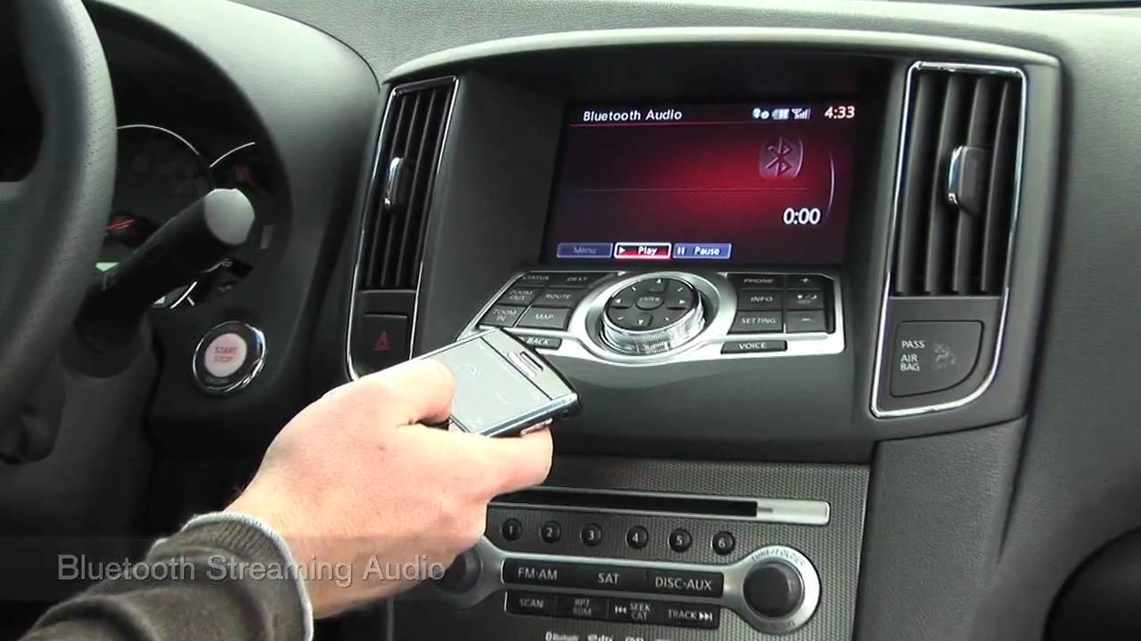 Nissan Maxima Navigation And Entertainment Systems Youtube