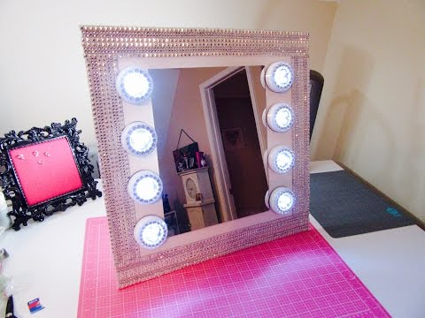 $13 Vanity Mirror -Dollar Tree W/extra Bling