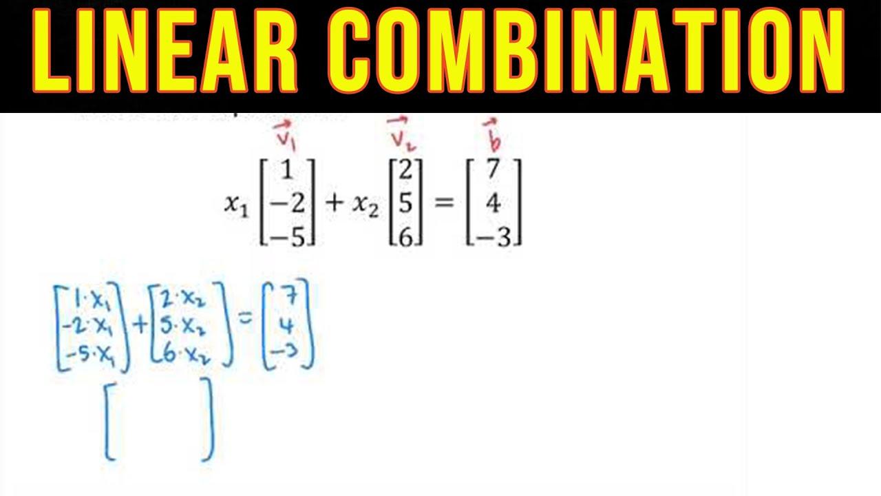 Write u as a linear combination of V2222, V22 and V22 - Linear Algebra