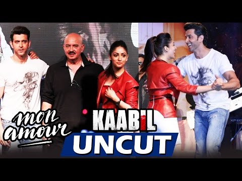 UNCUT - Mon Amour Song Launch - KAABIL - Hrithik Roshan, Yami Gautam - FULL VIDEO HD